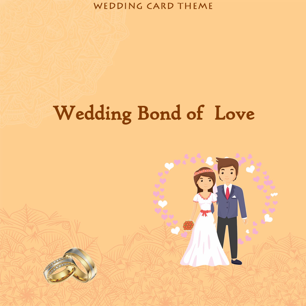 wedding bond of love theme