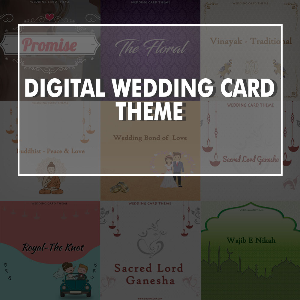 Free Digital Wedding Invitation themes for your Memorable Day