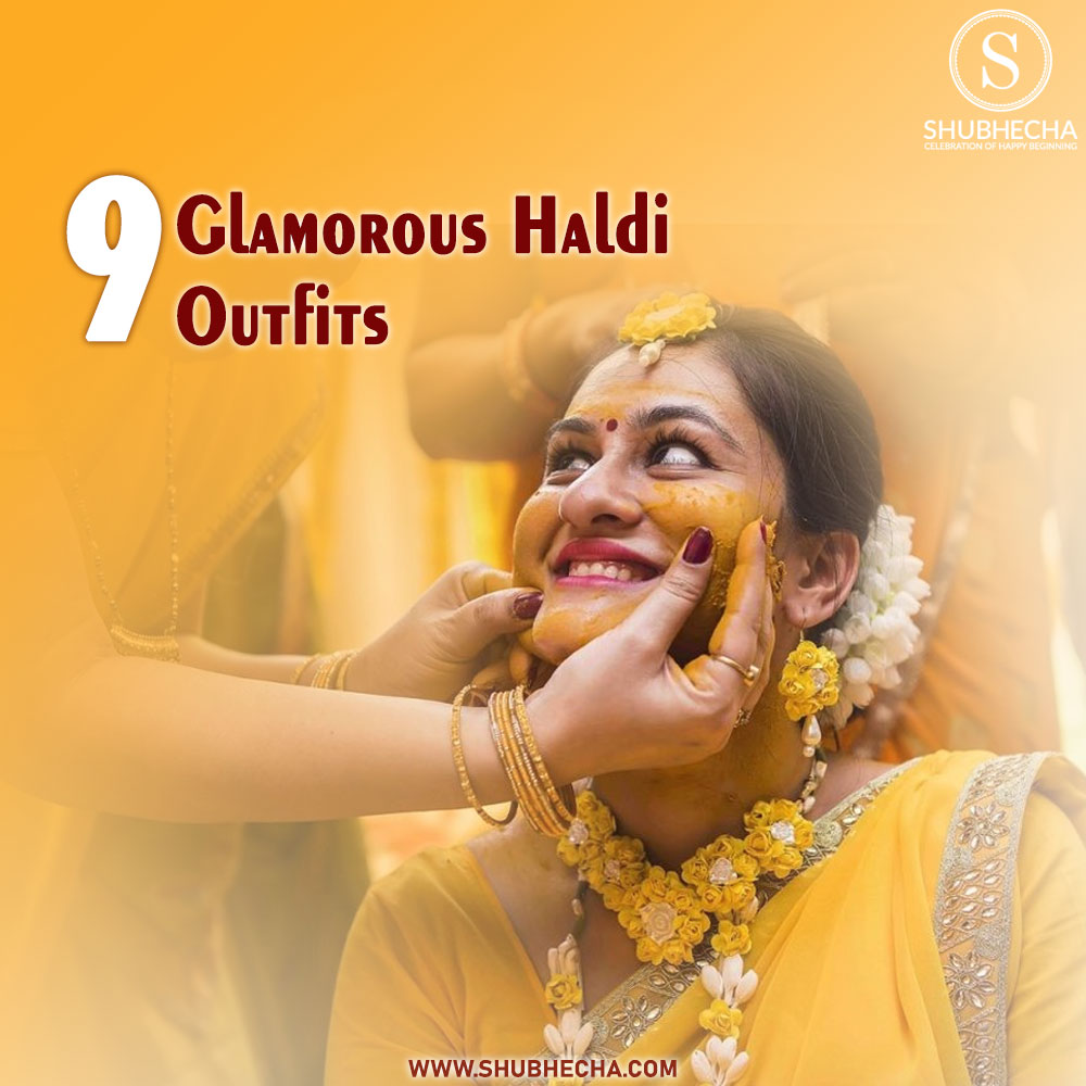 9 Glamorous Looks Haldi Function Dress ideas